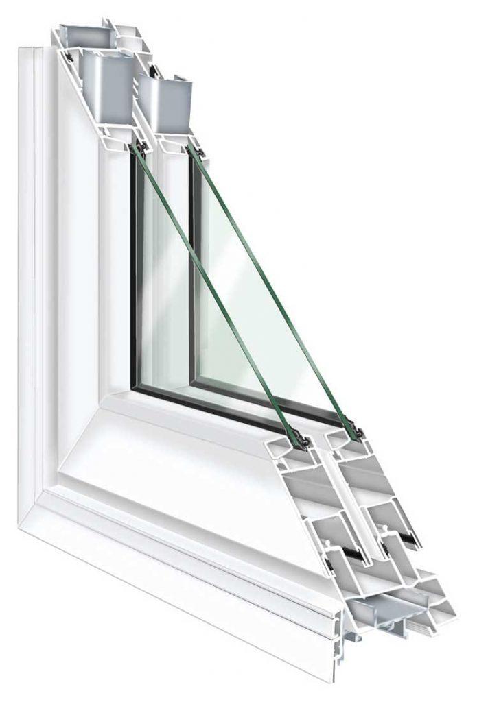 Esquadrias de PVC com vidro simples reduzem significativamente o ruído externo, devido à alta capacidade de vedação do material, e são uma das formas como isolar o som de um quarto.